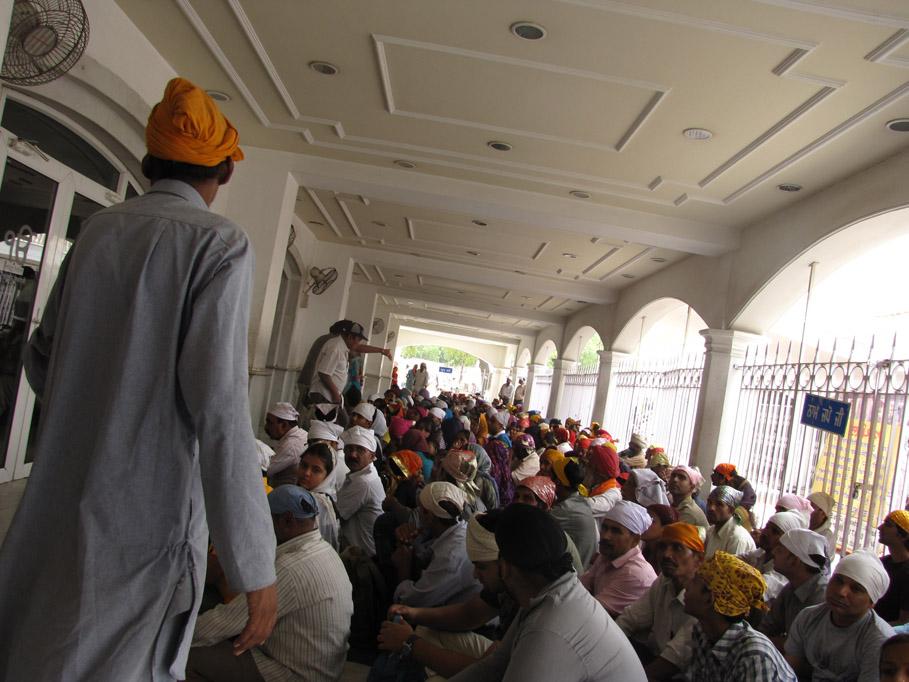 India, Delhi - Gurdwara Bangla Sahib