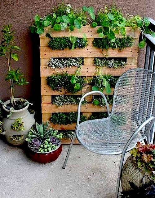 Wabi Sabi Scandinavia Design Art And Diy Diy Pallet Herb