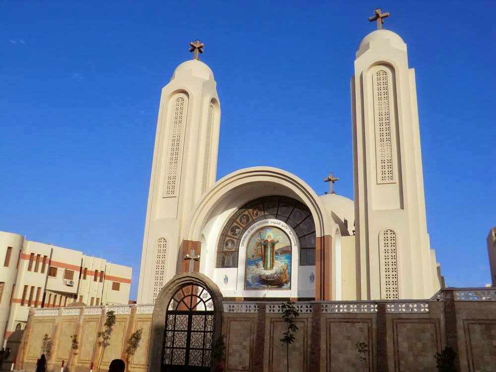 Hurghada iglesia ortodoxa