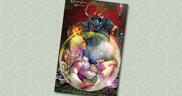 Grimm Fairy Tales Oz 3 Panini Cover