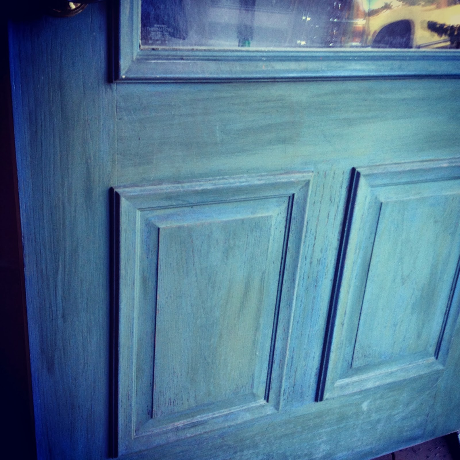 1600 #08062A  Professional Construction & Painting LLC: Faux Wood Grained Metal Door save image Painting Metal Doors 47471600