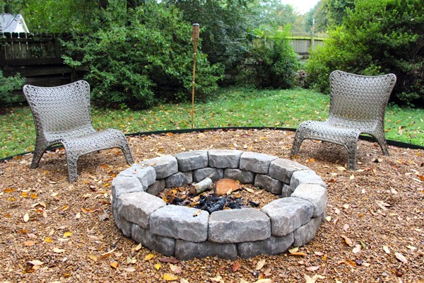 Some Like A Project: Easy (for you) DIY Fire Pit