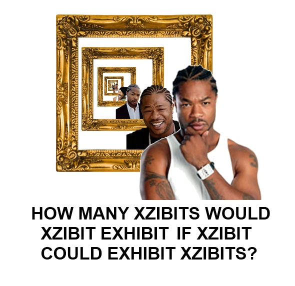 How Many Xzibits Would Xzibit Exhibit If Xzibit Could Exhibit Xzhibits
