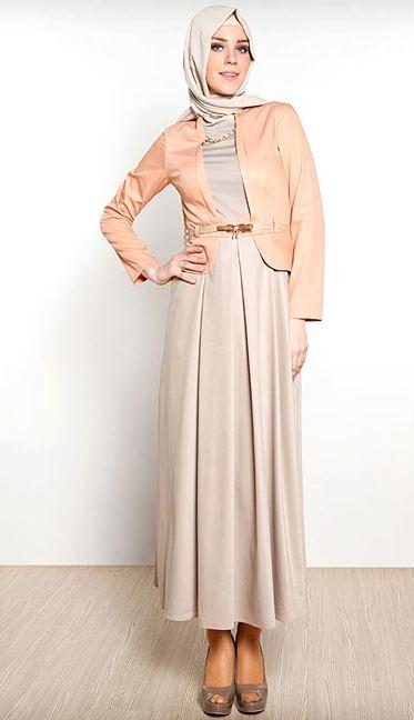 Toute La Beaut Et La Modernit D 39 Un Vetement Hijab Pour L 39 T 2014 Hijab Chic Turque Style