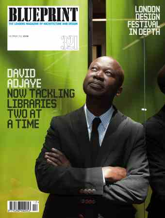 Ghana rising architecture design david adjaye makes cover of architecture design david adjaye makes cover of blueprint magazine malvernweather Gallery