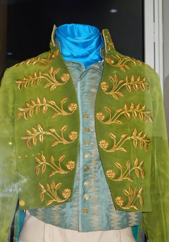 Cinderella Prince movie costume detail