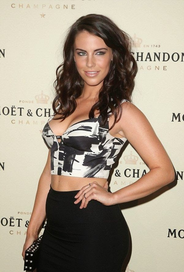 No matter where this actress goes, Jessica Lowndes, 26, never fails to look elegant and that's exactly what she did in the Four Seasons Hotel on Friday, March 6, 2015.  And certainly, the prospect of sport career gave her attention as Dailymail.co.uk report: The 90210 star headed the Moet & Chandon toast to honor Roger Federer's 1,000th career match at Los Angeles.