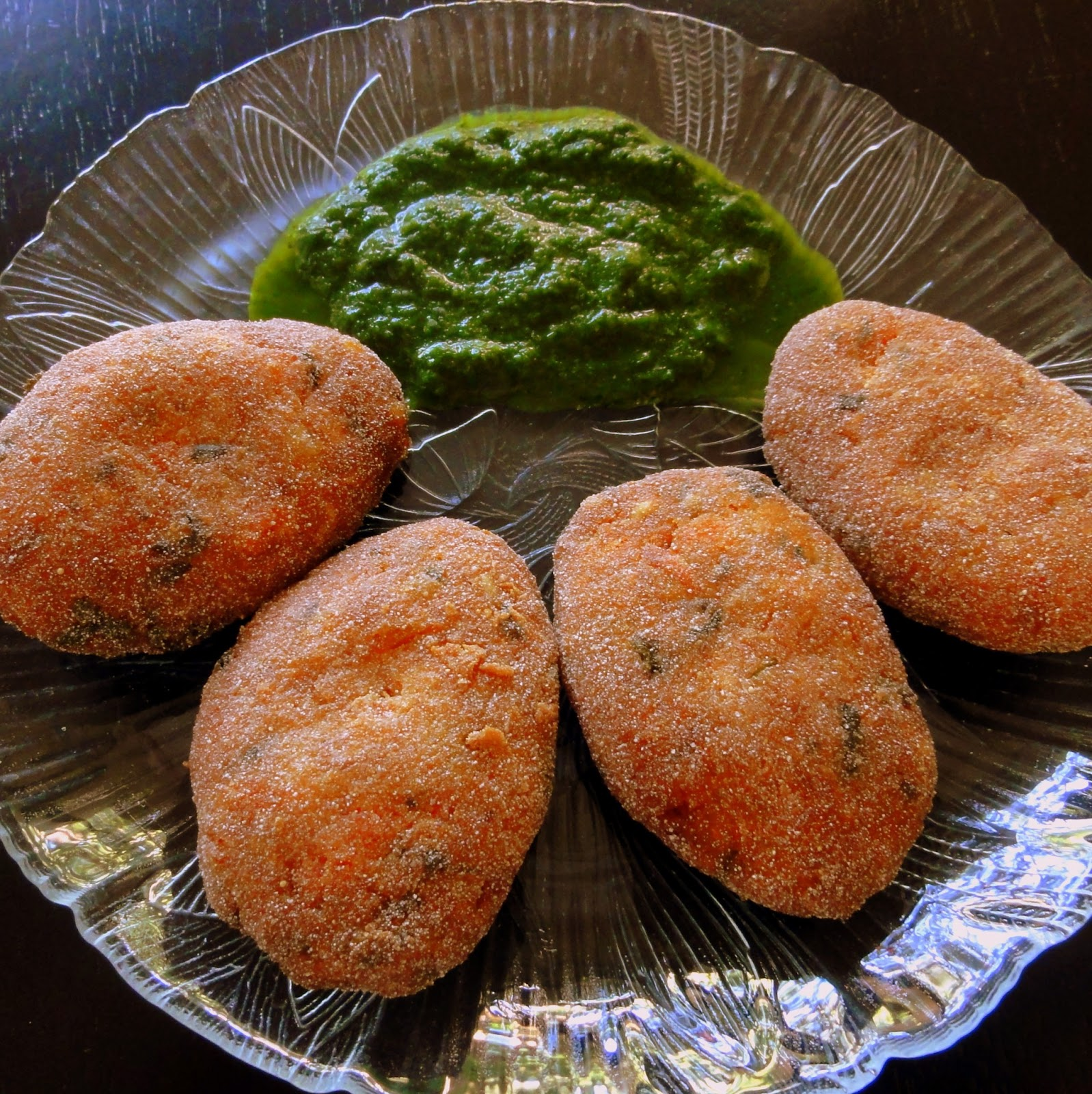 Harsha's Kitchenette: Sweet Potato Patties