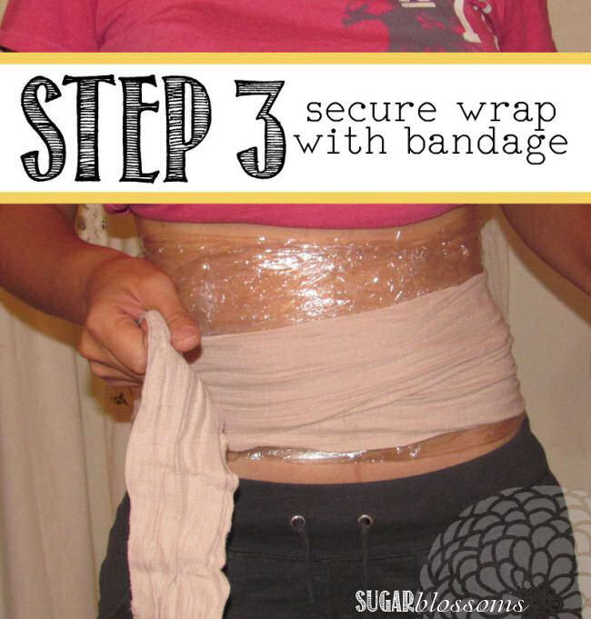 plastic wrap weight loss trick