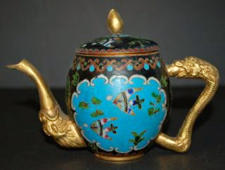 Ancient Asian teapots