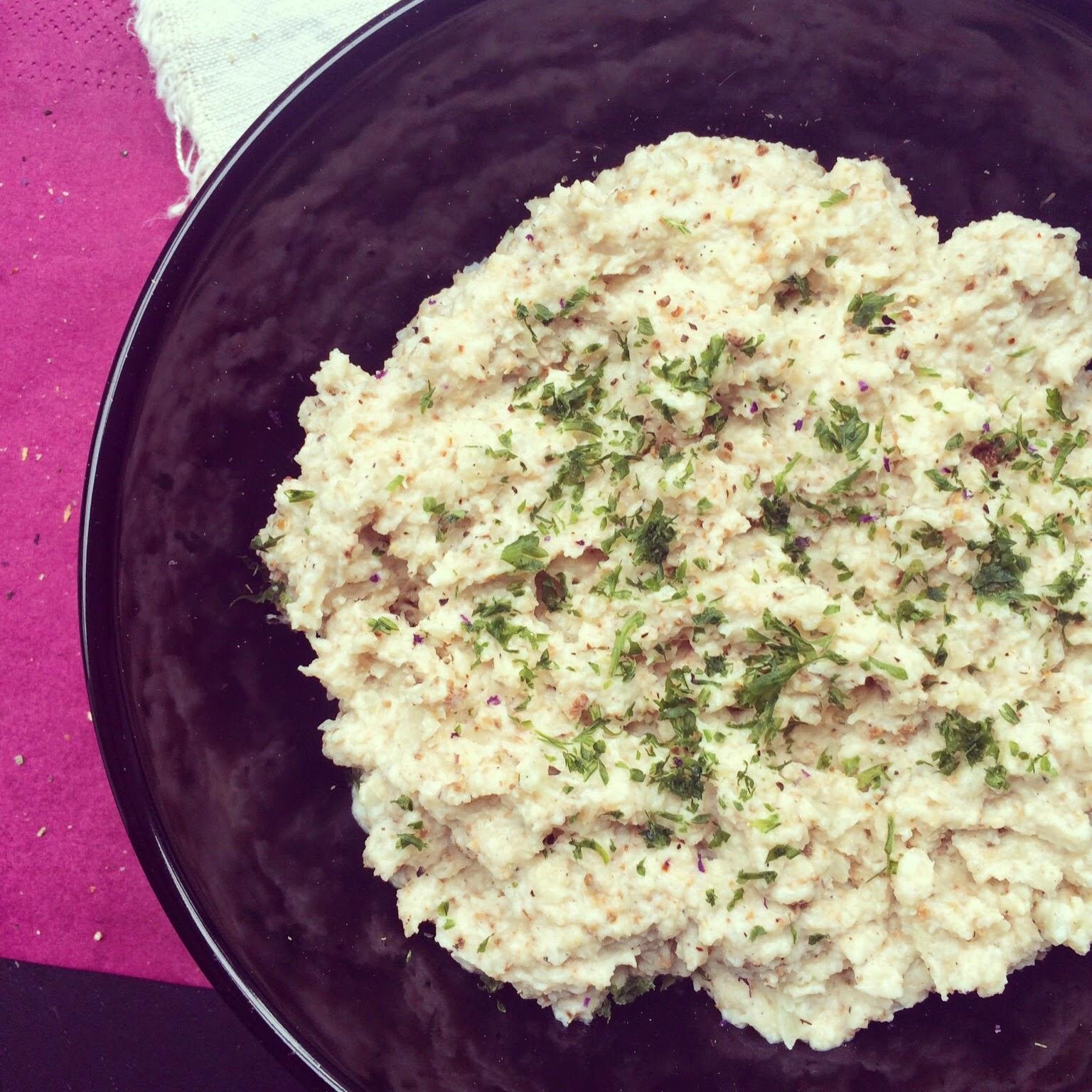 purée chou-fleur rôti yaourt grec