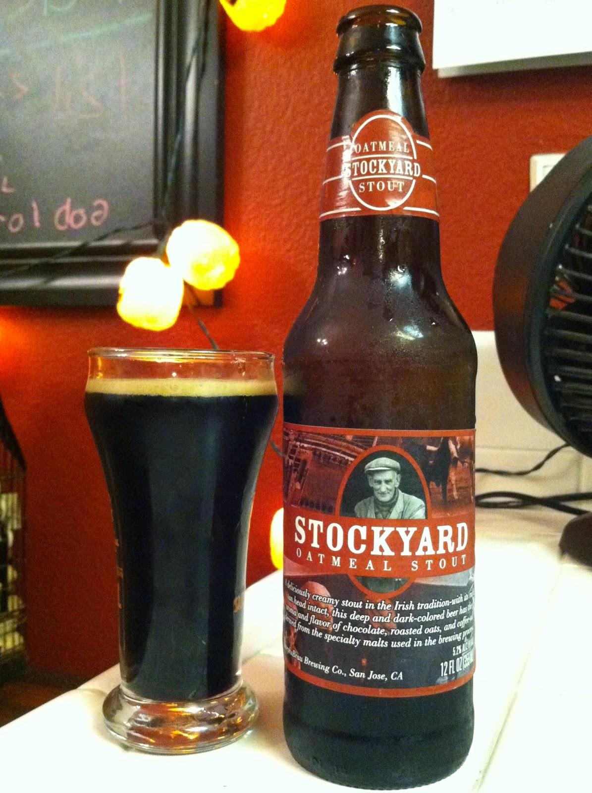 Stockyard Oatmeal Stout 1
