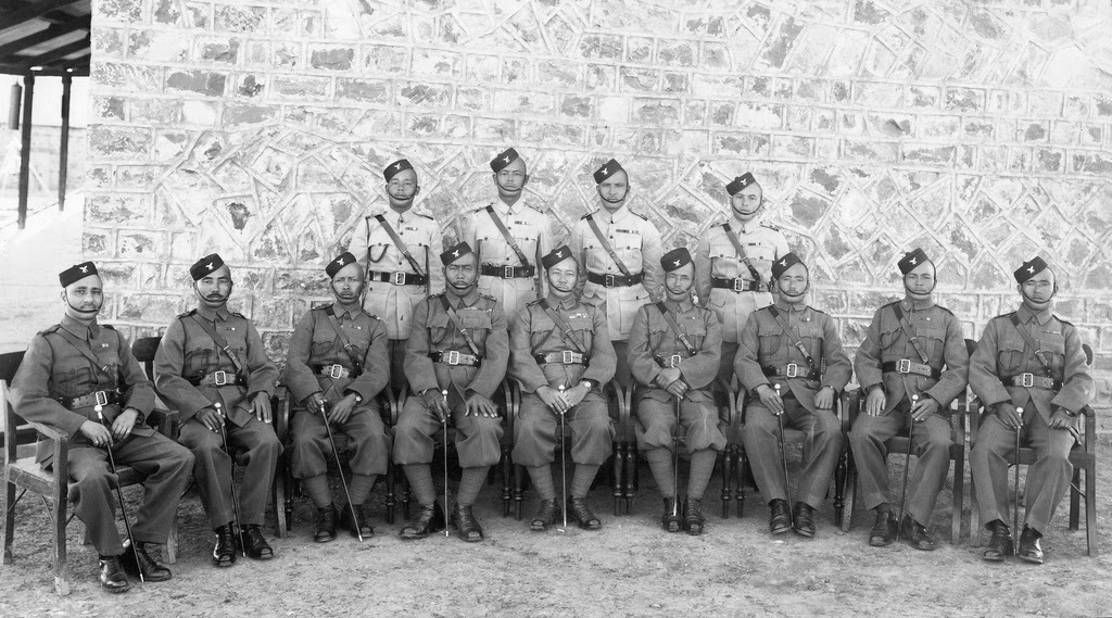 1st Battalion Gurkha or Gorkha Officers, Kakul 1941