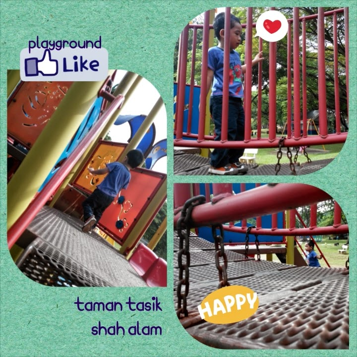 Kids Playground Taman Tasik Shah Alam, Selangor