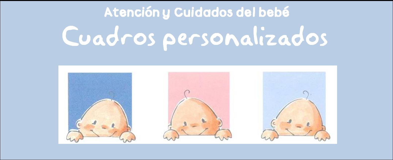 Atenci n y cuidados del beb cuadros personalizados para - Cuadros para ninos personalizados ...