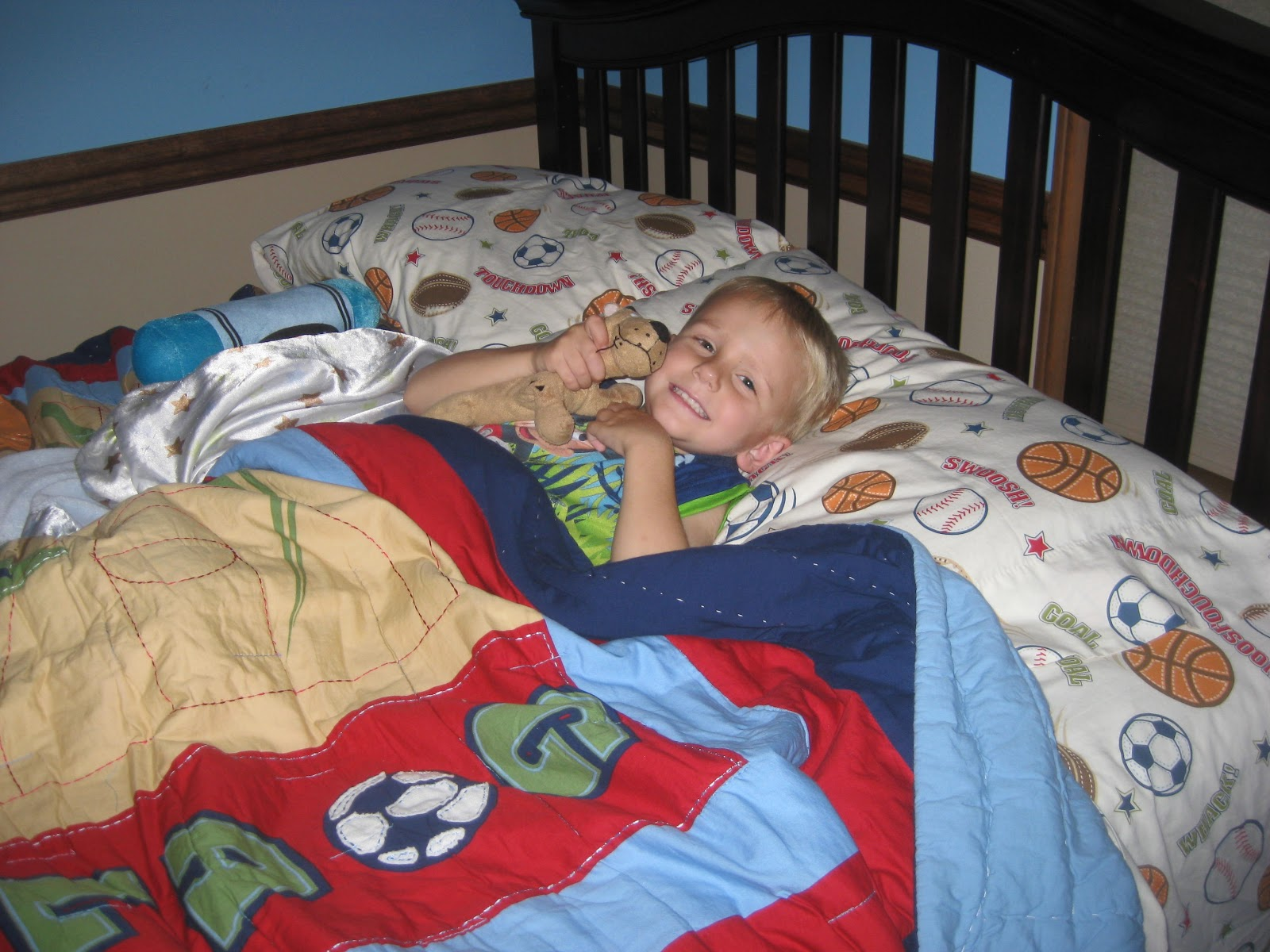 Cadle's Corner: Carter's Big Boy Bed
