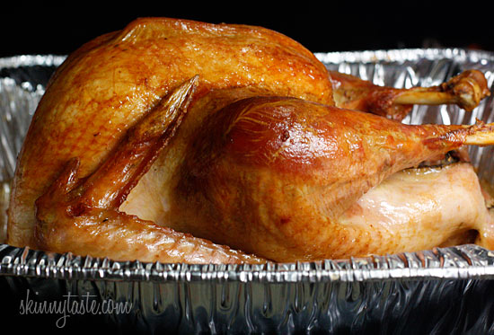 turkey, without using any butter or oil, soak your turkey in a brine ...