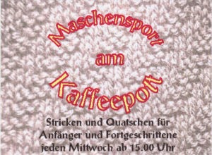 Maschensport am Kaffeepot
