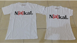 Jual Online kaos couple Nakal murah di jakarta bahan combed terbaru