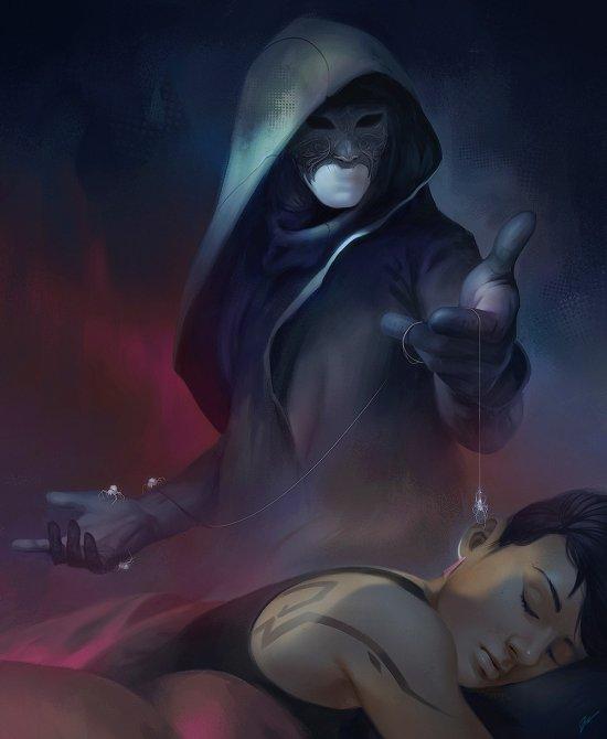 Dave Greco artstation ilustrações fantasia ficção científica games