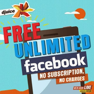 Djuice Offers Free Unlimited Facebook, No Subscription, No Charges