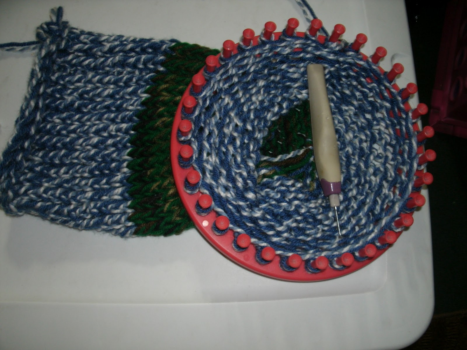 Crocheting On A Loom : Iris Loom Knit & Crochet for Poor People