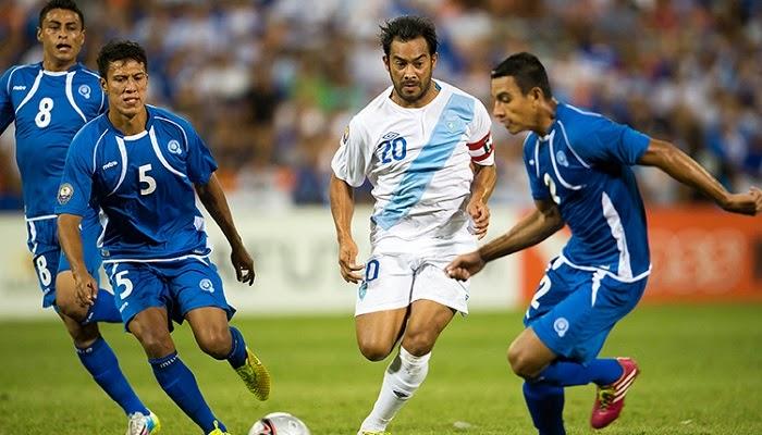 El Salvador vs Guatemala en vivo