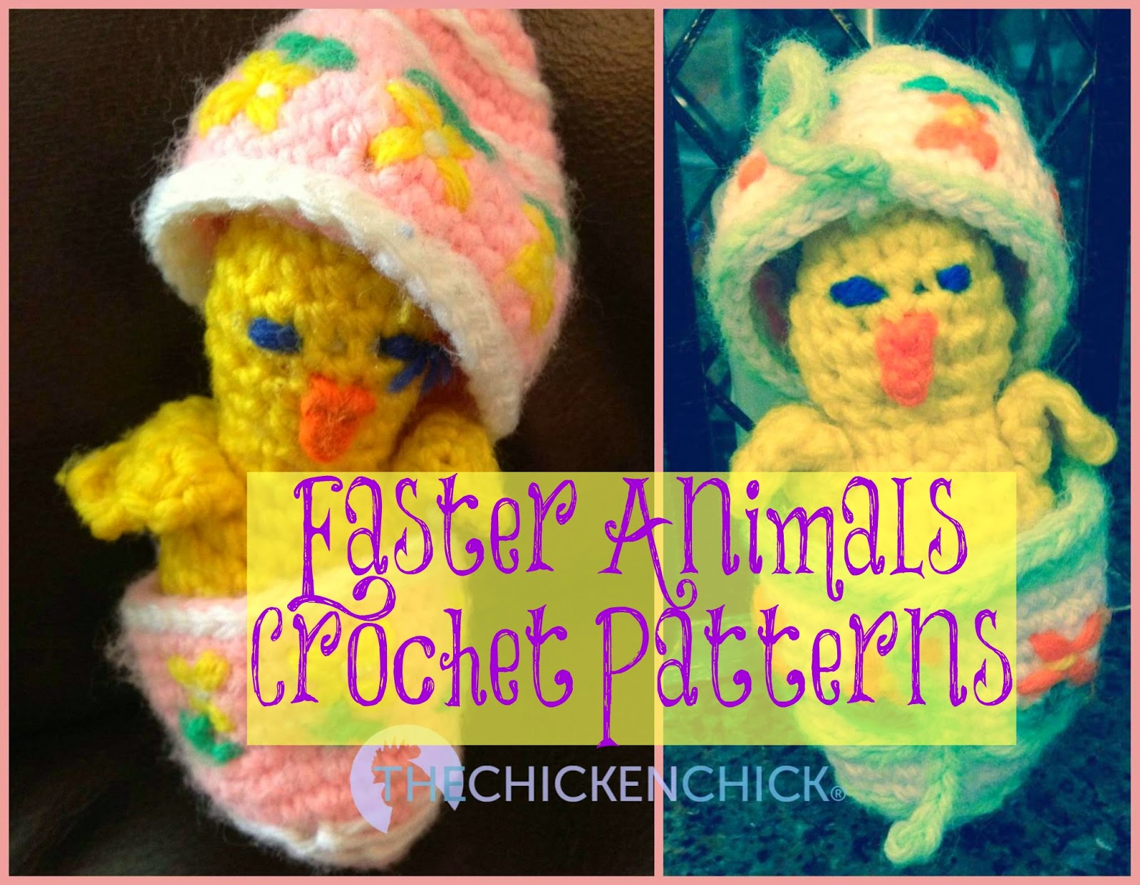 Chick in Egg Crochet Pattern from Woman\'s Day March 27, 1978   The ...