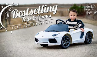 Toys & Games Extra 70% Cashback