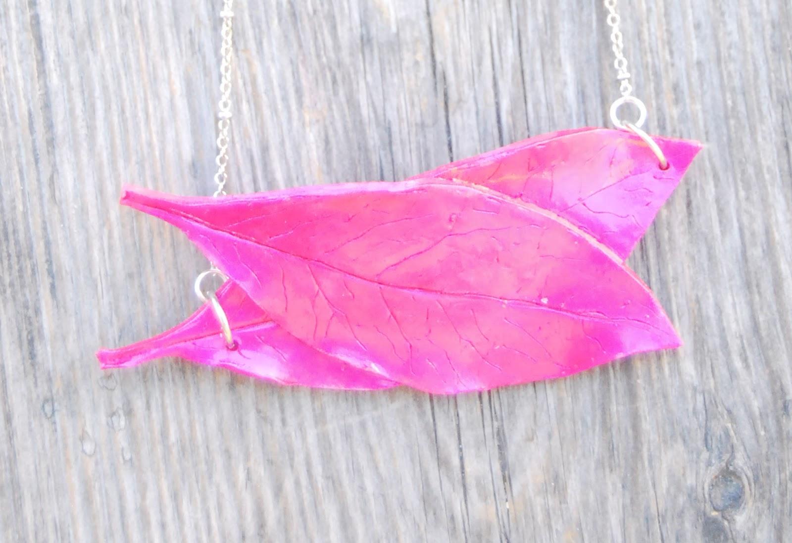 Collar Pink Printemps