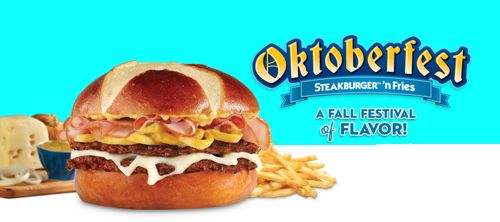 Steak N Shake Oktoberfest Steakburger