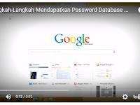 Video Tutorial Mendapatkan Password Database Dapodikmen atau Dapodikdas Semua Versi 8.1.3/3.0.3