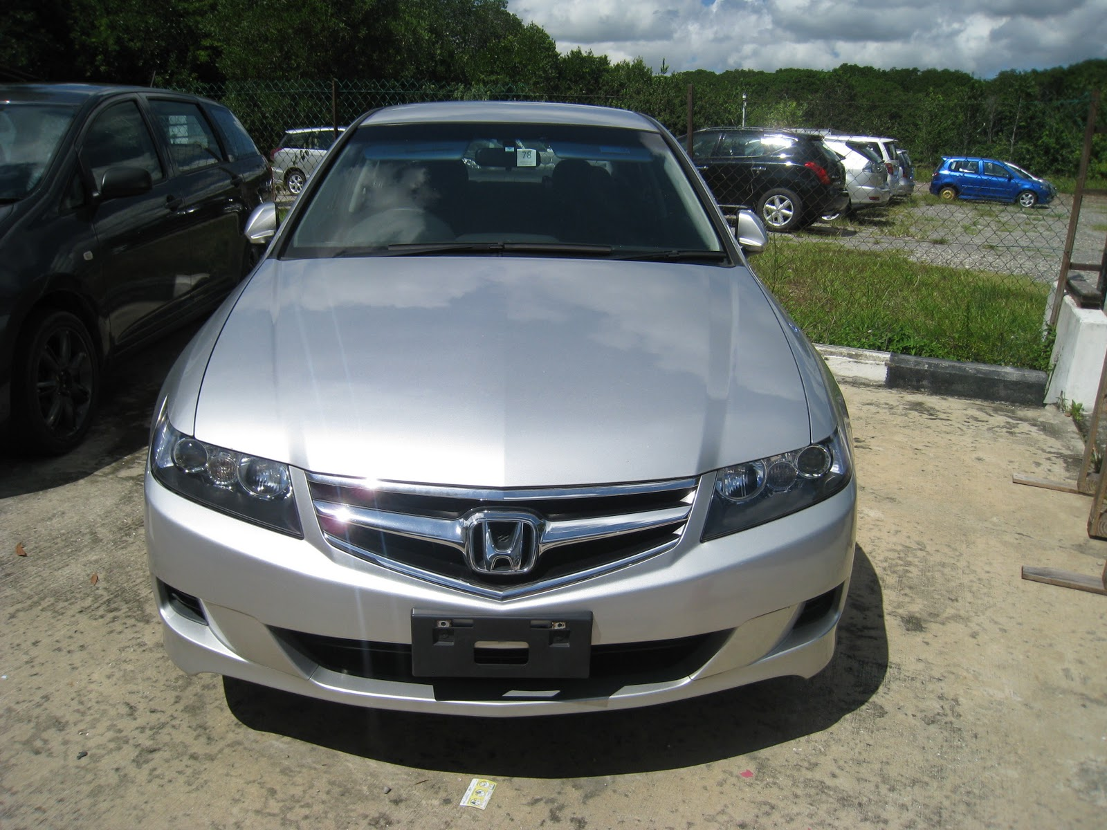 import used car honda accord cl7