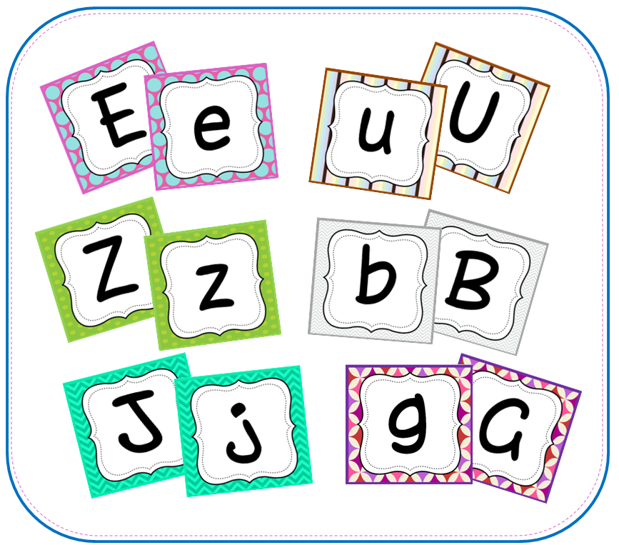 alphabet  game cards to match each letter with its capital!
