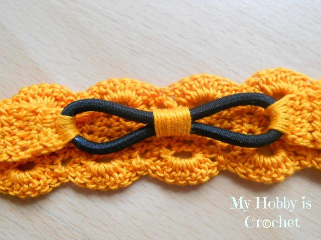 My Hobby Is Crochet Thread Headband Free Crochet