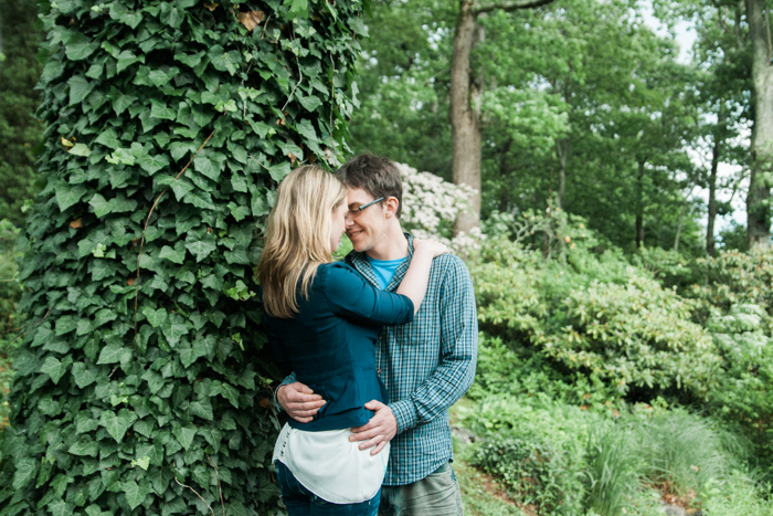 Blowing Rock, NC Engagement Pictures @ Gideon Ridge Inn