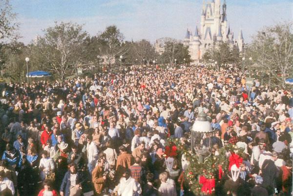 gente parques Disney