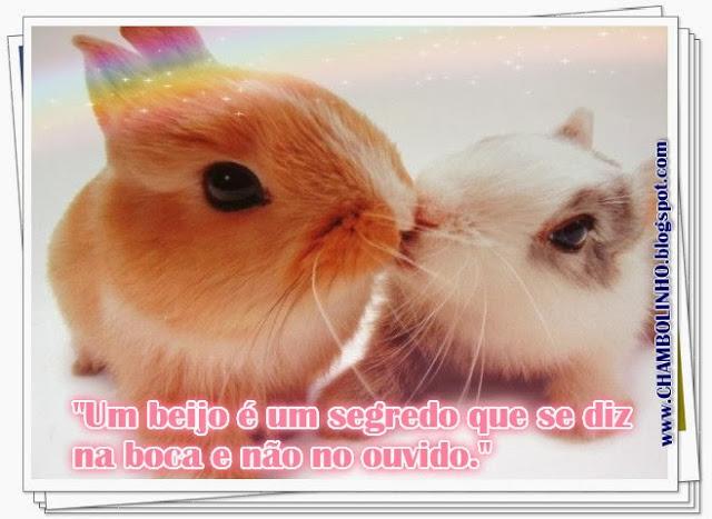 Recadinho para Facebook Beijo
