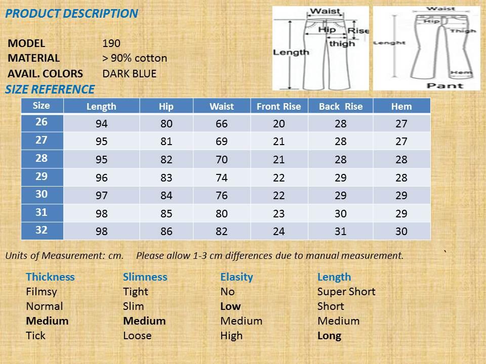 korean style long women denim slim end 12 26 2016 9 15 pm. Black Bedroom Furniture Sets. Home Design Ideas