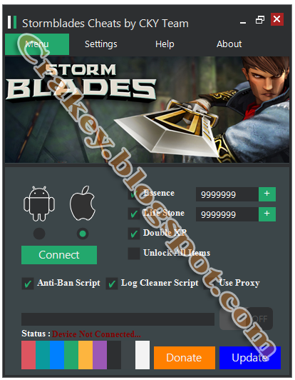 Download Stormblades Cheats Android iOS