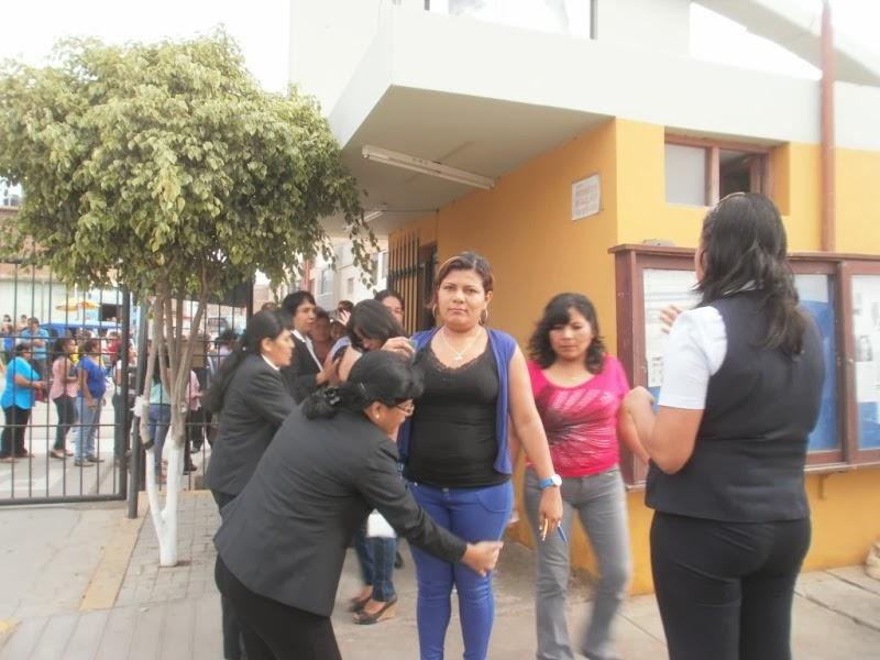 Los postulantes fueron revisados minuciosamente por personal de la UNPRG al momento de su ingreso