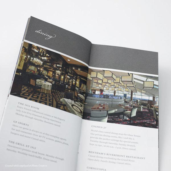 Brochure For Hotel And Resort