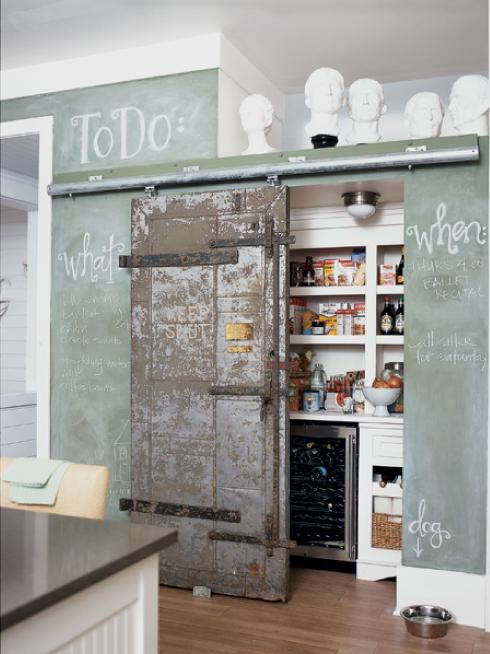 Puerta rustico vintage cocina