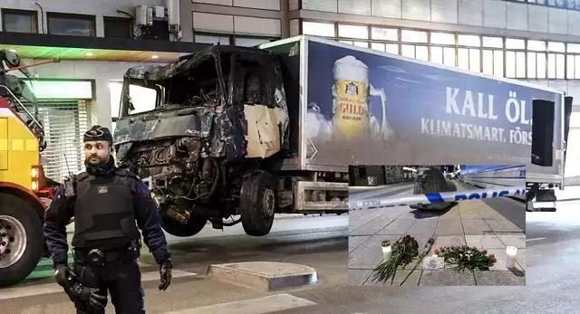 Επίθεση στη Στοκχόλμη: Συνελήφθη ο δράστης που οδηγούσε το φορτηγό (vids)