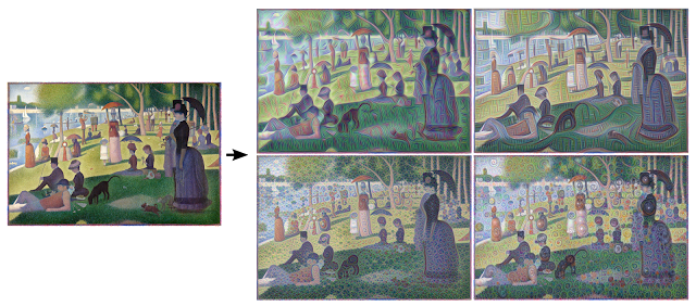 4 generated images