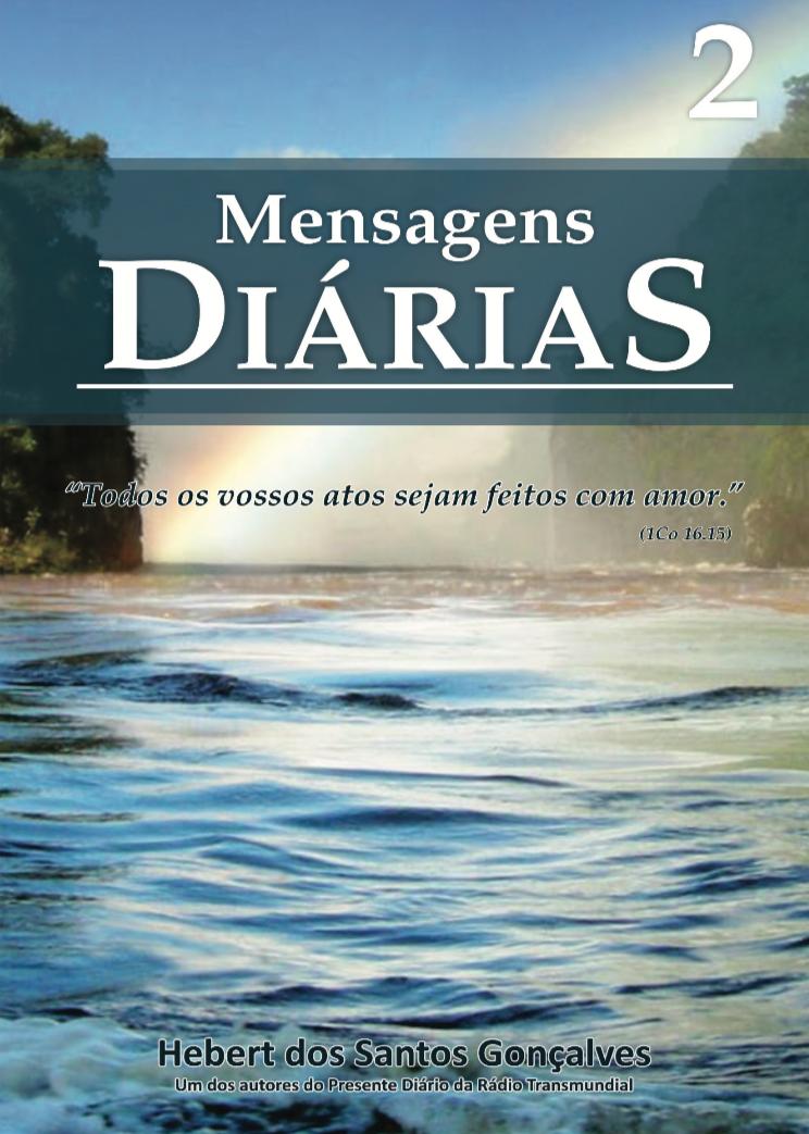 Livro Mensagens Diárias 2