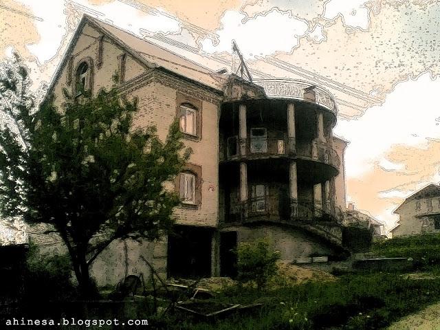 красивый дом, строительство, дом из кирпича, отопление, загородный коттедж