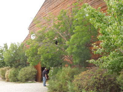Entrance to Taft Barn in Atascadero, © B. Radisavljevic