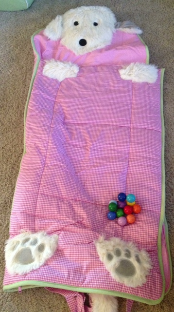 baby gift idea toddler sleeping bag