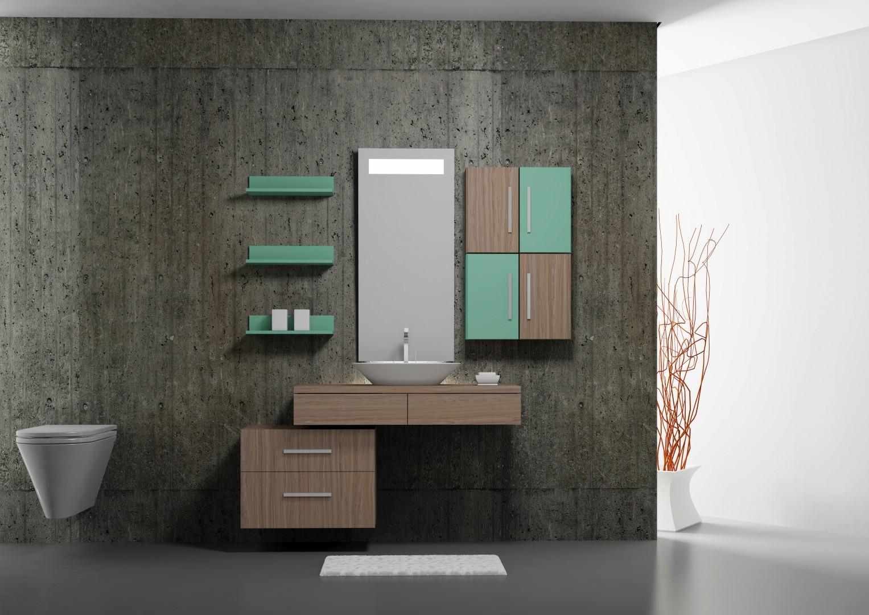 Banheiros com Estilo: A cor do ano: Verde #895842 1527 1080